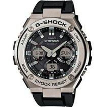 Casio G-Shock GSTS110-1ACR Novo Aço 59mm Cronógrafo
