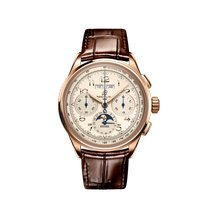 Breitling Pluton Rose gold 42mm Champagne