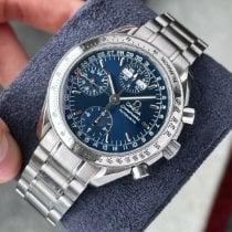 Omega Speedmaster Day Date Steel 39mm Blue No numerals United States of America, Wisconsin, La Crosse