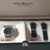 Maurice Lacroix AIKON Acciaio 39mm Blu Senza numeri Italia, barletta
