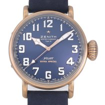 Zenith Pilot Type 20 Extra Special 45mm Blue