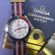 Omega Seamaster Diver 300 M Steel 41mm White No numerals