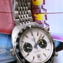 Heuer Steel 42mm White No numerals United States of America, Florida, Alachua