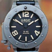 U-Boat U-42 6157. Sehr gut Titan 53mm Automatik