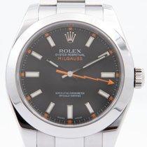 Rolex 116400 Steel 2008 Milgauss 40mm pre-owned