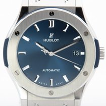 Hublot Classic Fusion Blue Titanyum 45mm Mavi