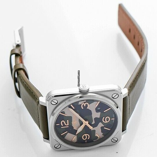 Bell & Ross BR S BRS-CK-ST/SCA 2021 new