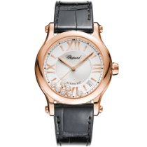 Chopard Happy Sport 274808-5001 Ny Rosa guld 36mm Automatisk