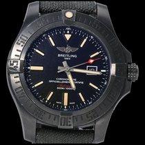 Breitling Avenger Blackbird Титан 48mm Черный Без цифр