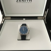 Zenith El Primero Original 1969 Ocel 38mm Modrá
