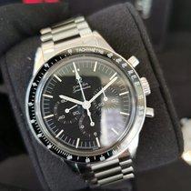 欧米茄 Speedmaster Professional Moonwatch 钢 39.7mm 黑色 无数字