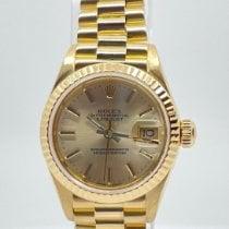 Rolex Lady-Datejust Gelbgold 26mm Gold Keine Ziffern Schweiz, Genève