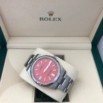 Rolex Oyster Perpetual Steel 41mm Red No numerals United Kingdom, Nottingham