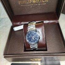 Philip Watch Steel 467mm Quartz 25895 new