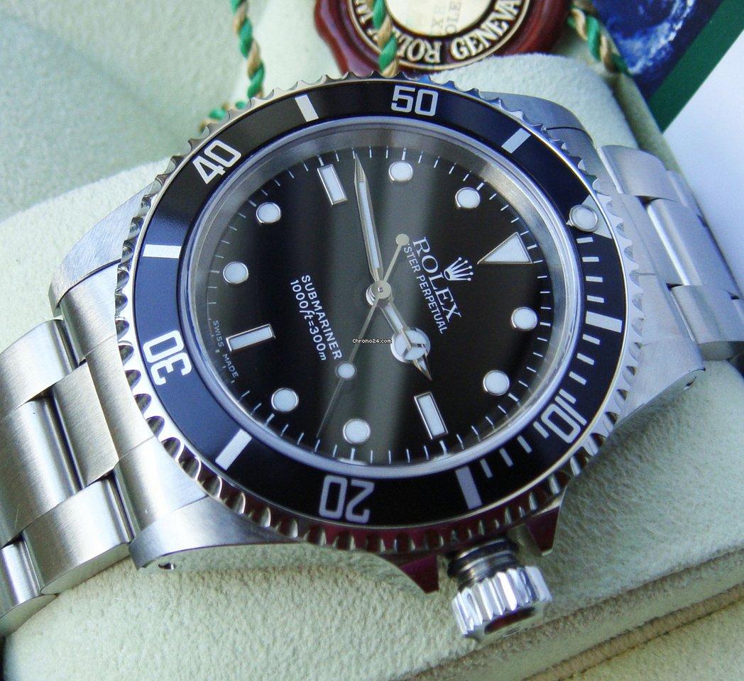 Rolex Submariner (No Date) 14060M 2002 gebraucht