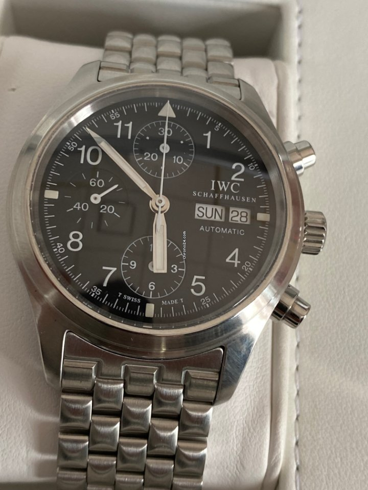 IWC 파일럿 크로노그래프 7922 2005 중고시계