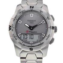 Tissot T-Touch II Stål 43mm Sølv Ingen tall