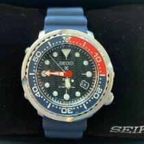 Seiko Prospex Steel 46.7mm Black No numerals United States of America, Indiana, Bloomington