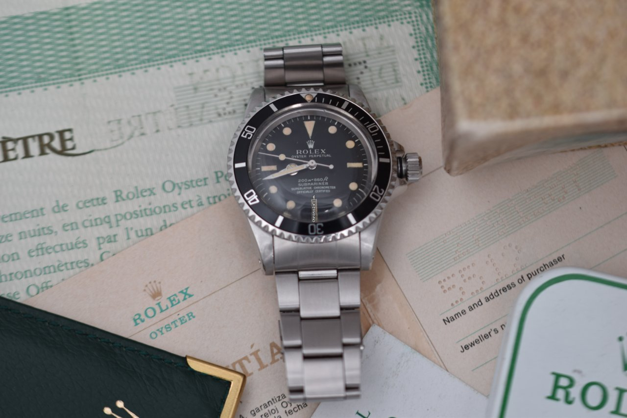 Rolex Submariner (No Date) 5512 1970 pre-owned