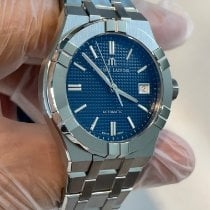 Maurice Lacroix new Automatic Display back Central seconds Luminous hands Luminous indices 39mm Steel Sapphire crystal