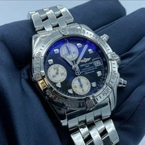 Breitling Chrono Cockpit Steel 39mm Black No numerals United States of America, New Jersey, Princeton