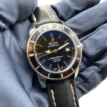 Breitling Superocean Heritage 42 Steel 42mm Black No numerals