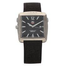 TAG Heuer Professional Golf Watch Titan 36mm Schwarz Keine Ziffern