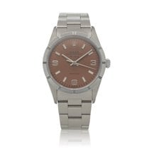 Rolex Air King Precision Steel 34mm Brown United States of America, New York, New York