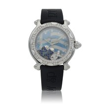 Chopard Happy Diamonds Steel 38mm Mother of pearl United States of America, New York, New York