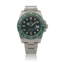 Rolex Submariner Date Steel 40mm Green United States of America, New York, New York