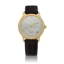 Zenith Elite Power Reserve Yellow gold 36mm Silver United States of America, New York, New York