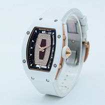 Richard Mille RM 07 White gold 45.66mm Transparent No numerals