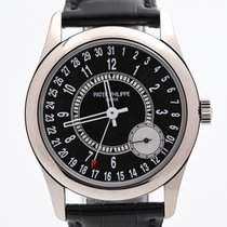 Patek Philippe Calatrava White gold 39mm Black Arabic numerals