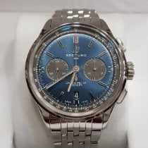 Breitling Steel 42mm Automatic AB0118A61C1A1 pre-owned