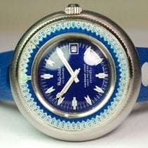 Philip Watch pre-owned Automatic 50mm Blue Mineral Glass 100 ATM