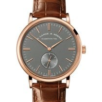 A. Lange & Söhne Red gold Manual winding Grey 37mm new Saxonia