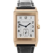 Jaeger-LeCoultre Red gold Manual winding 36.5mm pre-owned Reverso Duoface