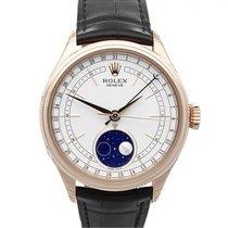 Rolex Cellini Moonphase Oro rosa 39mm Blanco