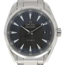 Omega Seamaster Aqua Terra Steel 38.5mm Grey No numerals United Kingdom, London