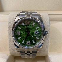 Rolex Datejust novo 2007 Automático Relógio com caixa e documentos originais 116200