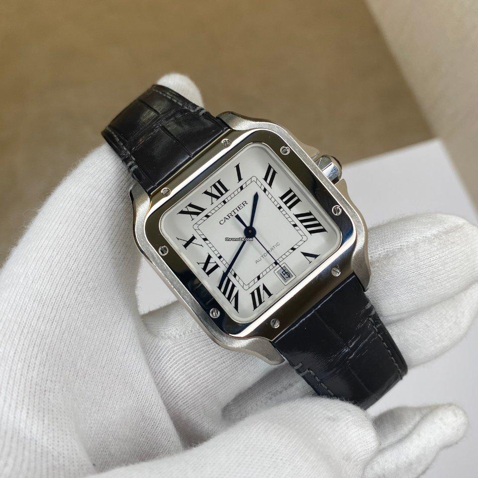 Cartier Santos (submodel) WSSA0018 2019 подержанные