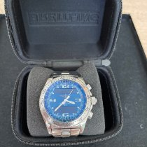 Breitling B-1 Steel 44mm Blue Arabic numerals