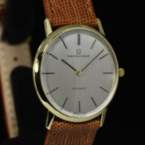 Universal Genève Microtor Yellow gold 32mm Grey No numerals