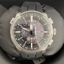 Seiko Astron GPS Solar Steel 48mm Grey No numerals United States of America, New York, NY