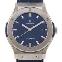 Hublot Classic Fusion Blue 511.NX.7170.LR Очень хорошее 45mm Автоподзавод