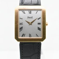 Piaget Protocole Yellow gold 26mm Silver Roman numerals United States of America, New York, New York