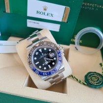 Rolex GMT-Master II 116710BLNR Ungetragen Stahl 40mm Automatik