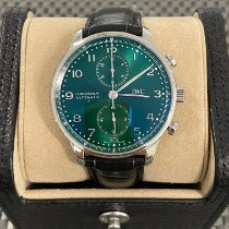 IWC Portuguese Chronograph new 2021 Automatic Chronograph Watch with original box and original papers IW371615