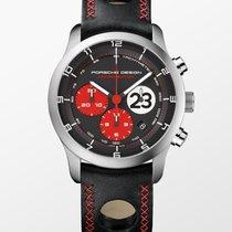 Porsche Design Dashboard Titan 42mm Schwarz Arabisch