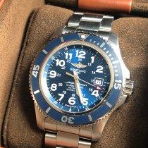 Breitling Superocean II 44 Steel 44mm Blue Arabic numerals United States of America, New York, Brooklyn